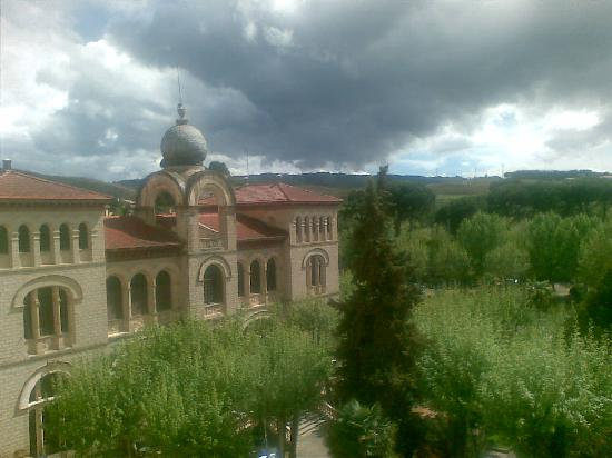 Alhama de Aragon, Hiszpania: vista desde la habitación