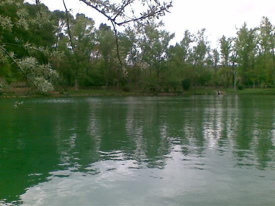 Balneario Termas Pallares - Hotel Termas: lago termal