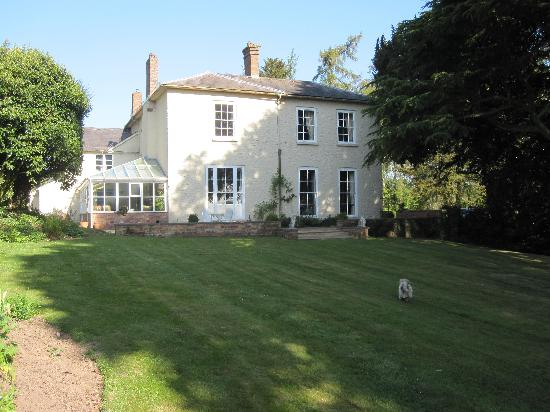 The Old Rectory Bed and Breakfast: View from the garden