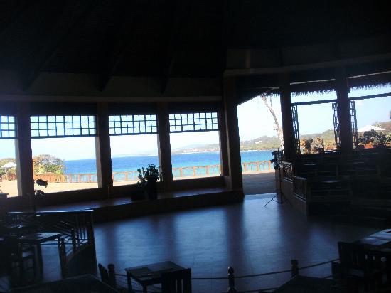 Media Luna Resort & Spa: View From Dining Room