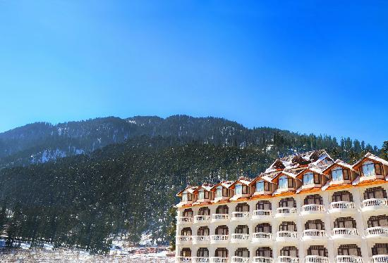 The outer view of Manali Heights