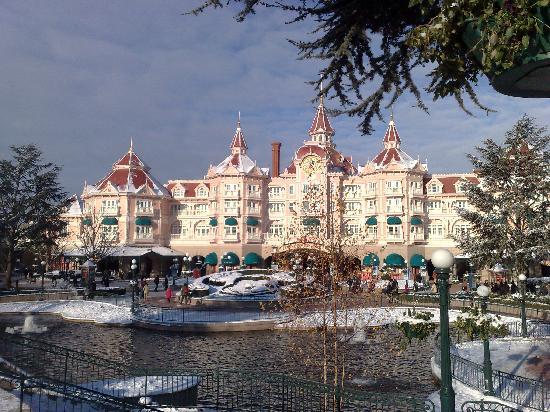 Disneyland Park: entrée du parc