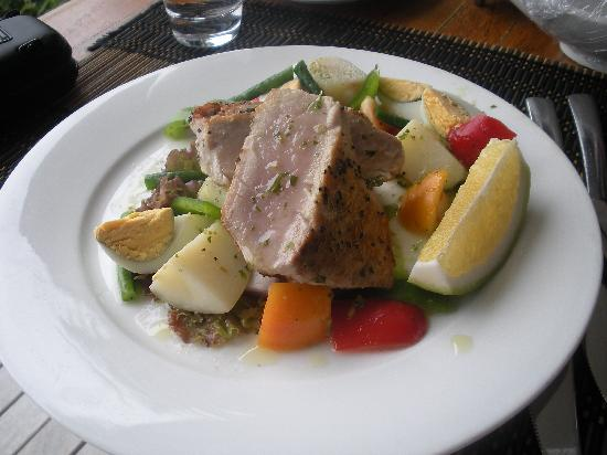 Royal Davui Island Resort, Fiji: Lunch we had in our room!