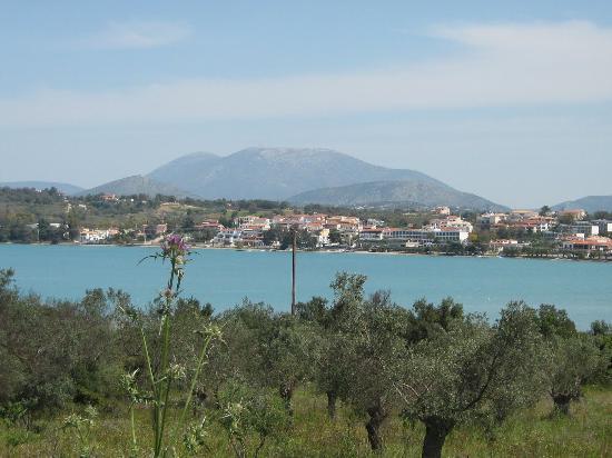 Porto Heli, Grèce : Vue sur l'hotel lors d'une ballade