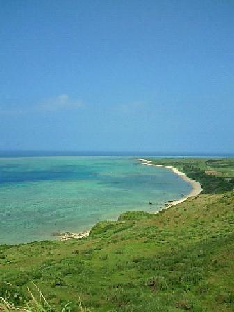 Cape Hirakubozaki: 灯台の手前にある丘から
