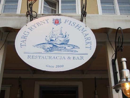 Restauracja Targ Rybny : Restaurant