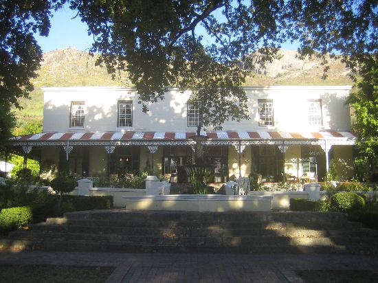 Pontac Manor Hotel : inkom hotel