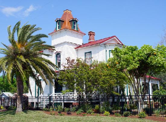 Captains House In Old Town Fernandina Amelia Island Bild