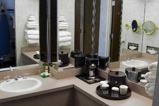 Plaza Hotel and Suites: Spacious Vanity's