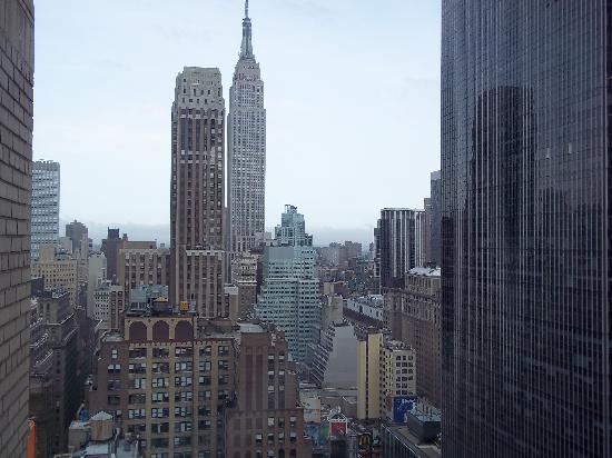 The New Yorker A Wyndham Hotel: view from our room