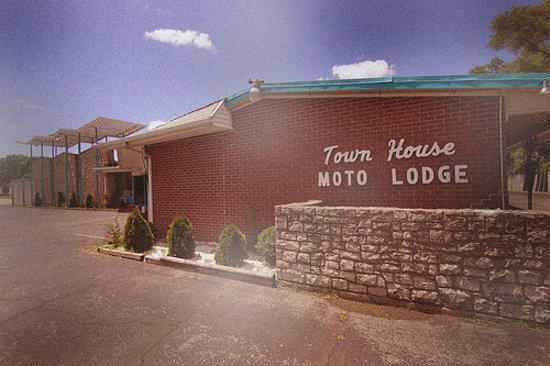 Charles Town, Virginia Occidental: Towne House Motor Lodge