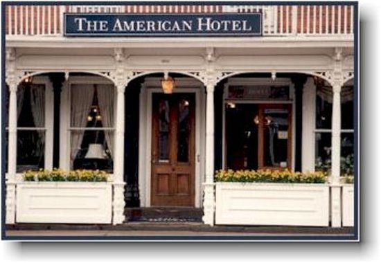 Sag Harbor, Estado de Nueva York: The American Hotel