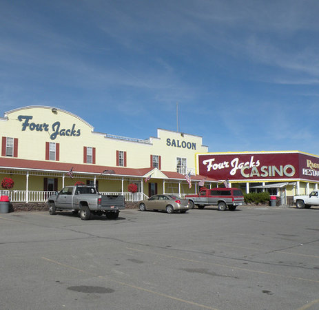 Jackpot, NV: Four Jacks Hotel/Casino