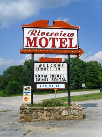 Mammoth Spring, AR: Riverview Motel