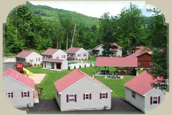 Diamond Point, NY: Country Cottages and Motel