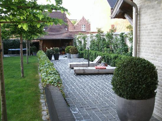 Charming Brugge: tuin