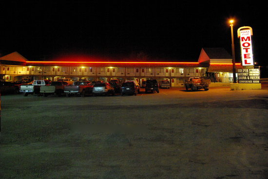 Dawson Creek, Canada: Peace Villa Motel