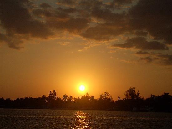 Angelfish Inn: Sunset every evening