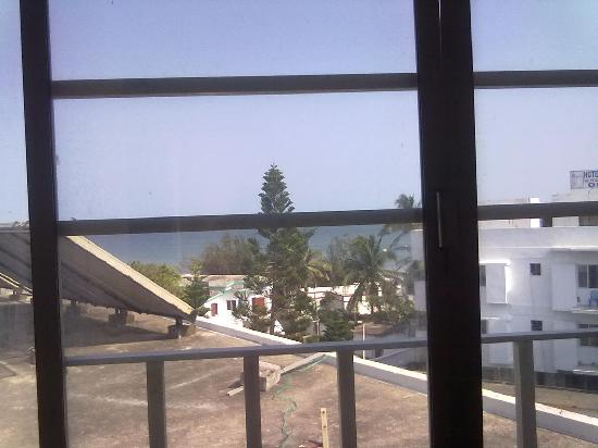 Hotel Sea Coast: View from the Window of the Best Room as they claimed it to be!