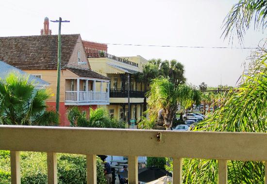 O.C. White's Seafood & Spirits: View towards the old city
