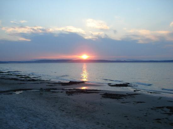 Nairn, UK : Sunset view from the beach