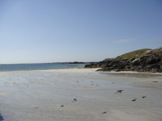 Ballyconneely, Irlanda: First beach we rode onto