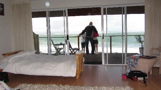 African Perfection Jeffreys Bay: View from the bed!