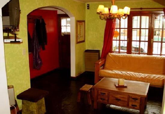 La Justina Hostel: La entrada al hostel