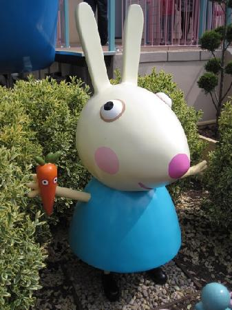 Paultons Park: Rebecca Rabbit