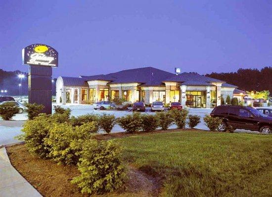 The Galaxy Restaurant : Galaxy Exterior Night Photo