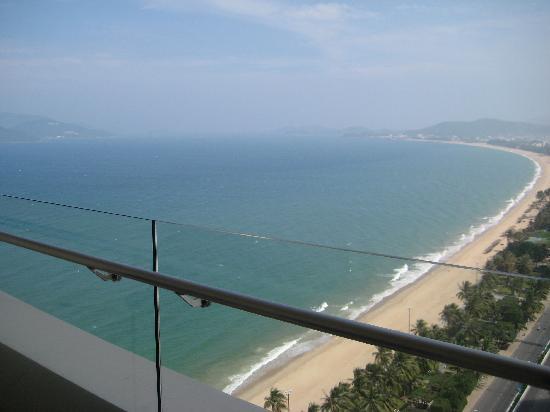Sheraton Nha Trang Hotel and Spa: View from balcony
