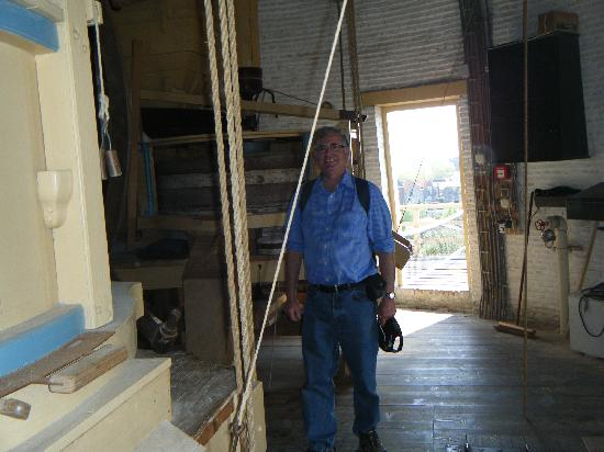 Schiedam Windmill : inside the mill