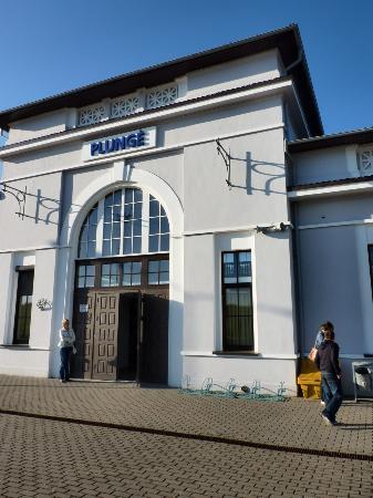 Plunge, Lituanie : Estación de Tren.