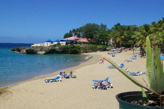 Casa Marina Beach Resort: the private beach