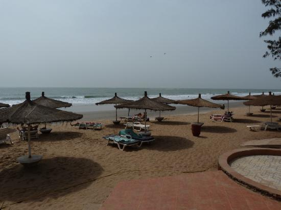Senegambia Beach Hotel: Beach