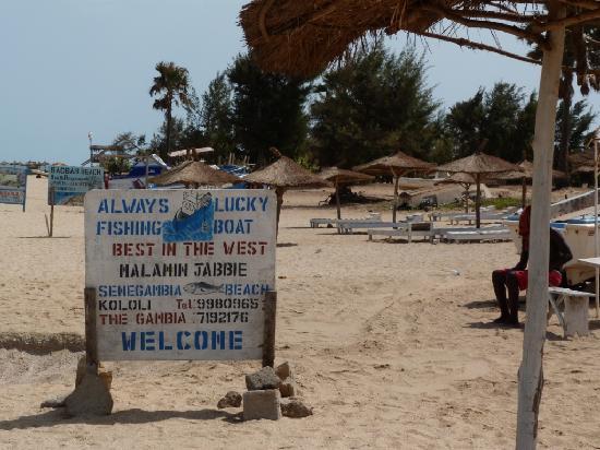 Senegambia Beach Hotel: Always Lucky Fishing Boat