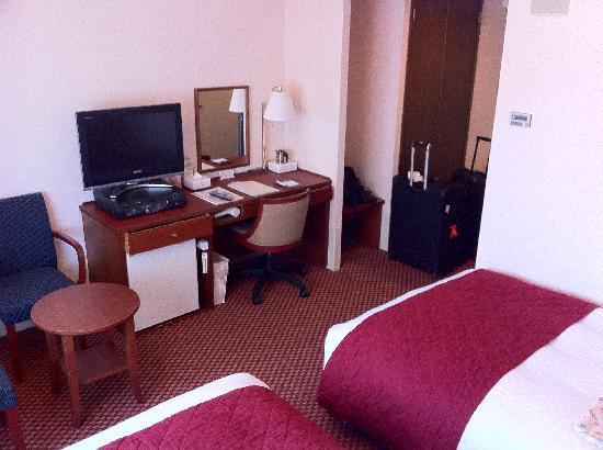 Hearton Hotel Kyoto: Twin room