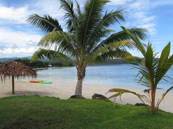 Savaii Lagoon Resort: Savaii Lagoon beach