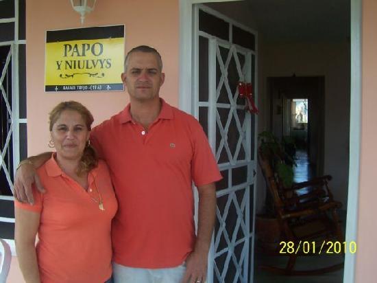 Casa Papo y Niulvys: papo y niulvys