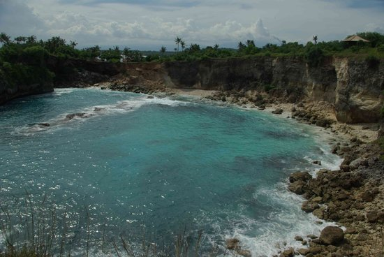 Nusa Lembongan, Indonesië: Blue Lagoon on Ceningan