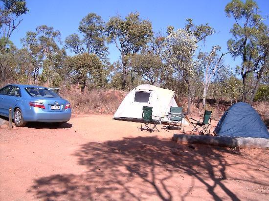 Undara Experience: Camp site