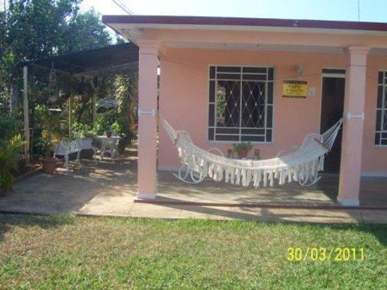 Casa Papo y Niulvys: portal