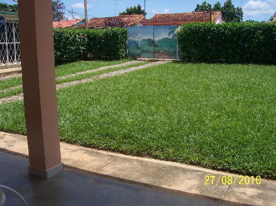 Casa Papo y Niulvys: jardín
