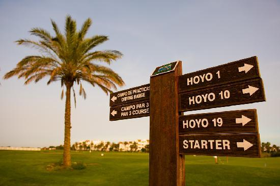 Costa Ballena Ocean Golf Club: Sign