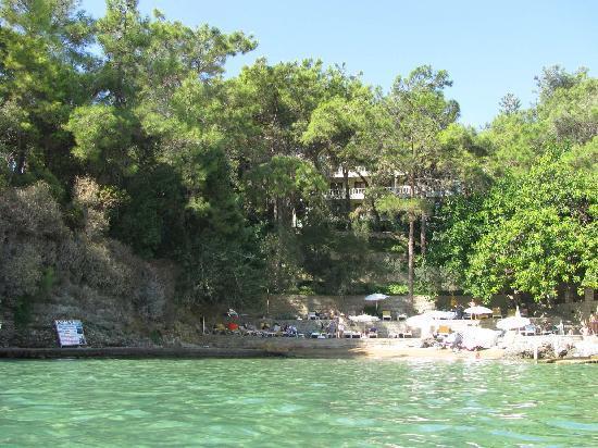 Alara Hotel: A small bay