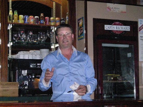 Sainte Catherine Hotel : Jean-Marc le patron, hyper sympa