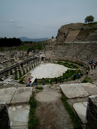 Selcuk, Turkey: Ephesus Theatre