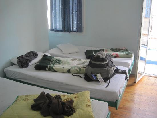 San Remo Hostel: 寒かったら、ブランケットを借りましょう