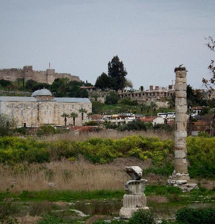 Selcuk, Turchia: Temple of Artemis (Artemision)