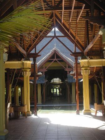 Paradis Beachcomber Golf Resort & Spa: hall d'entrée